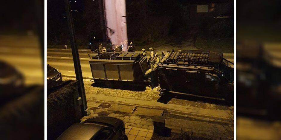 Fort Chabrol à Ramillies: le forcené armé a été arrêté