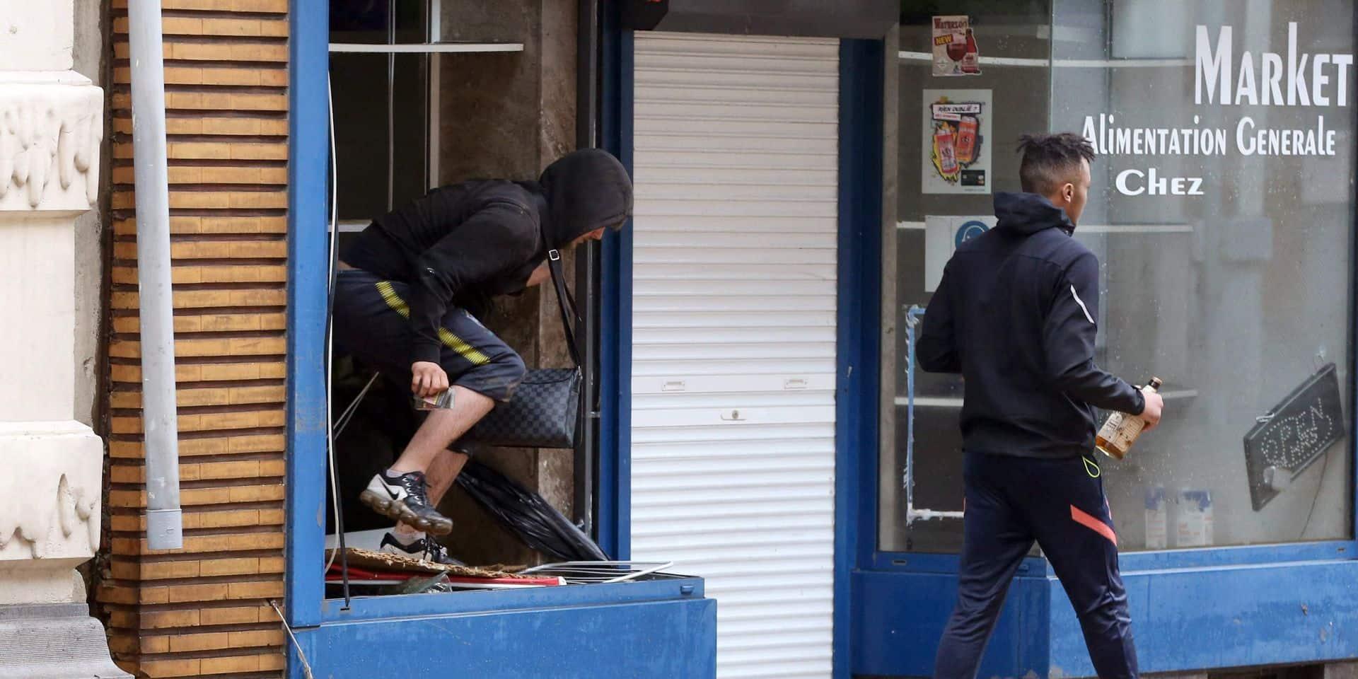 Des commerces pillés durant les inondations à Verviers