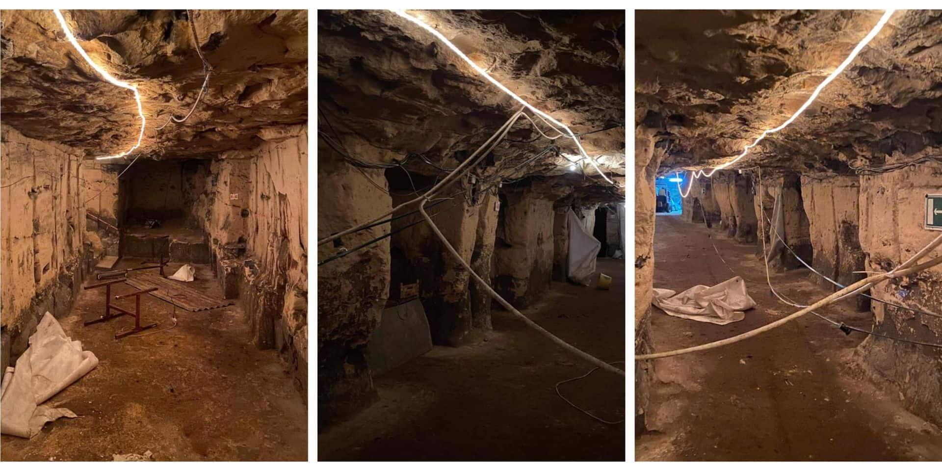 Les grottes de Wonck vandalisées