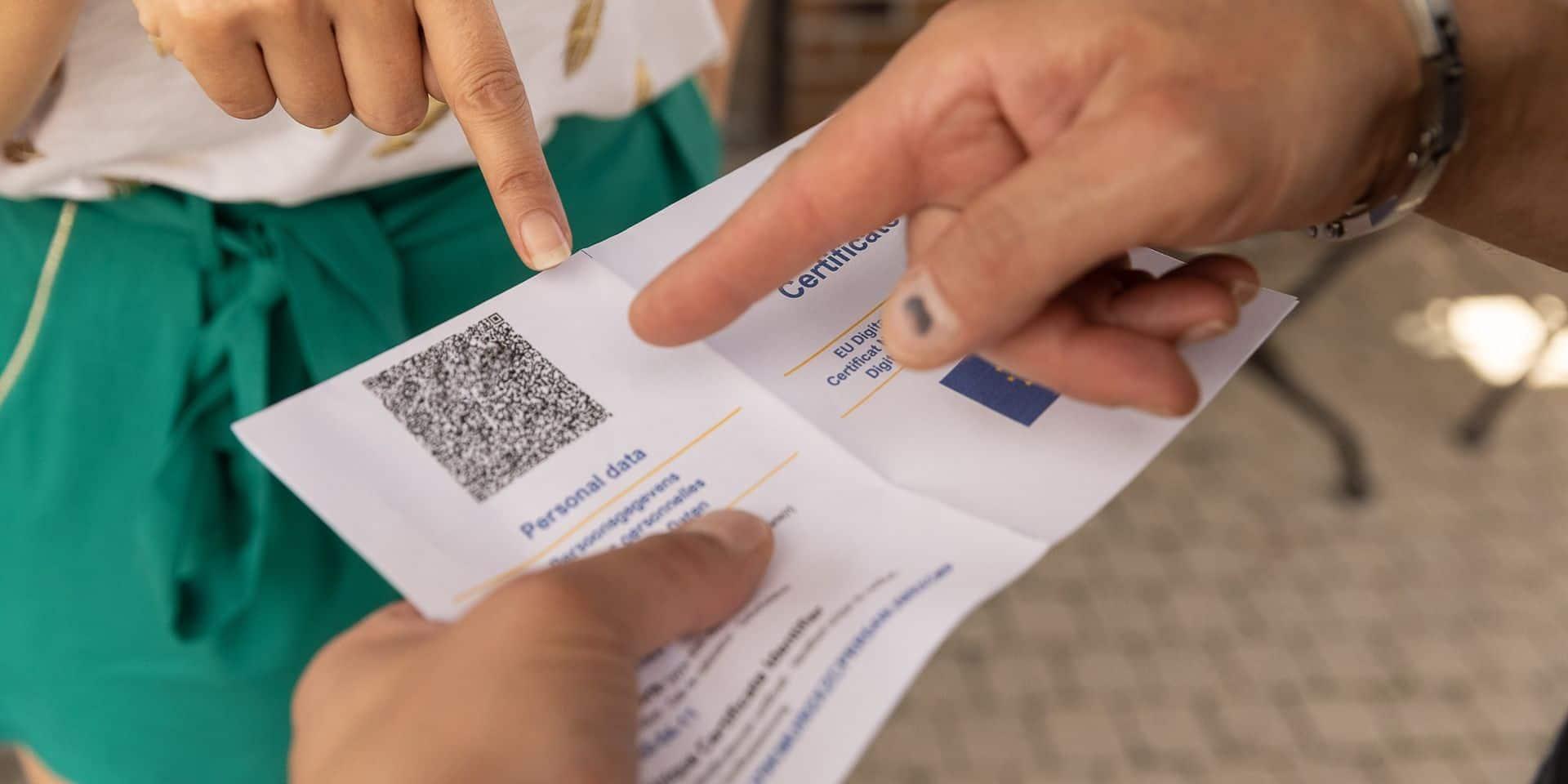 La mise en place du covid safe ticket obligatoire divise les Tournaisiens