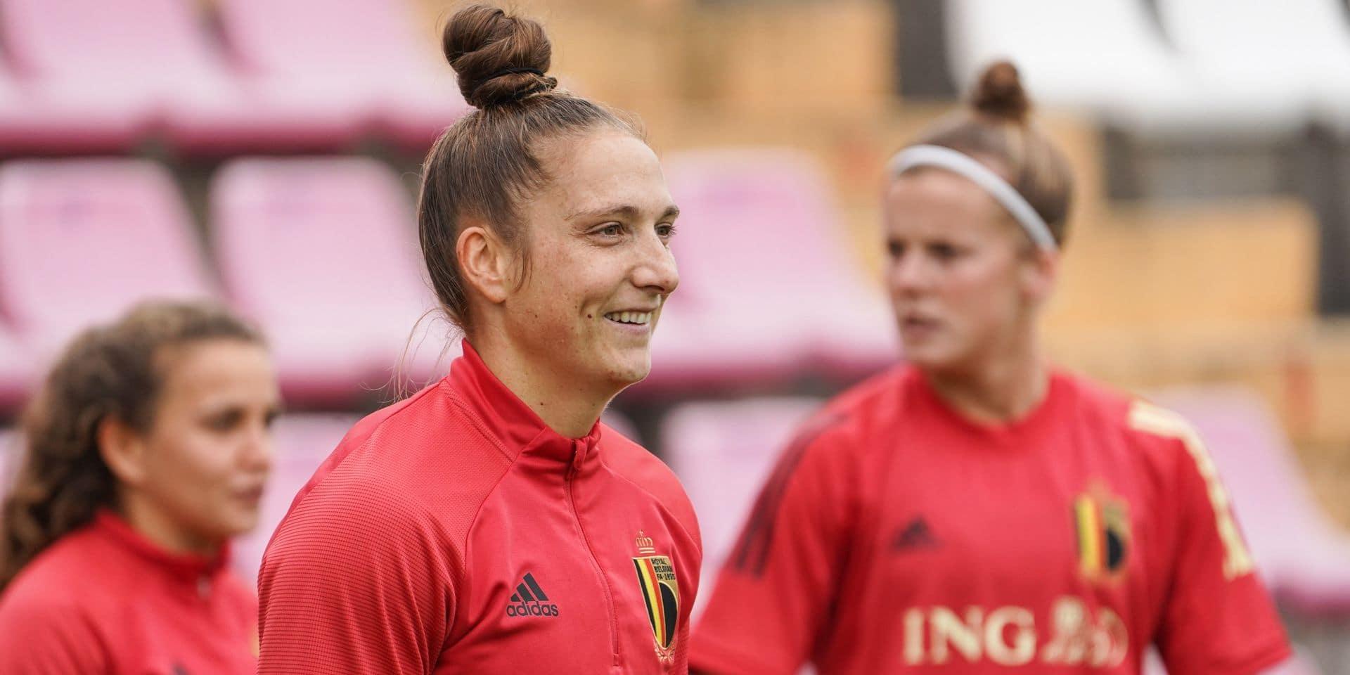 """Maud Coutereels est de retour au Standard: """"Montrer aux jeunes la voie à suivre"""""""