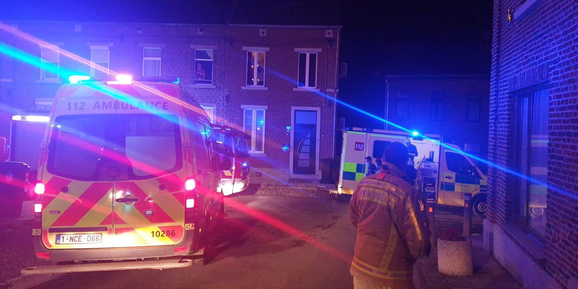 Quatre personnes intoxiquées au CO à Anderlues, elles ont été transportées en milieu hospitalier