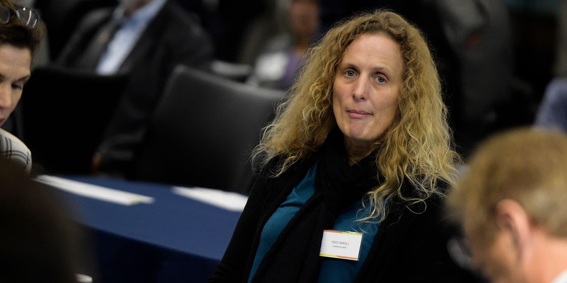 Heidi Rakels se porte candidate à la présidence du COIB