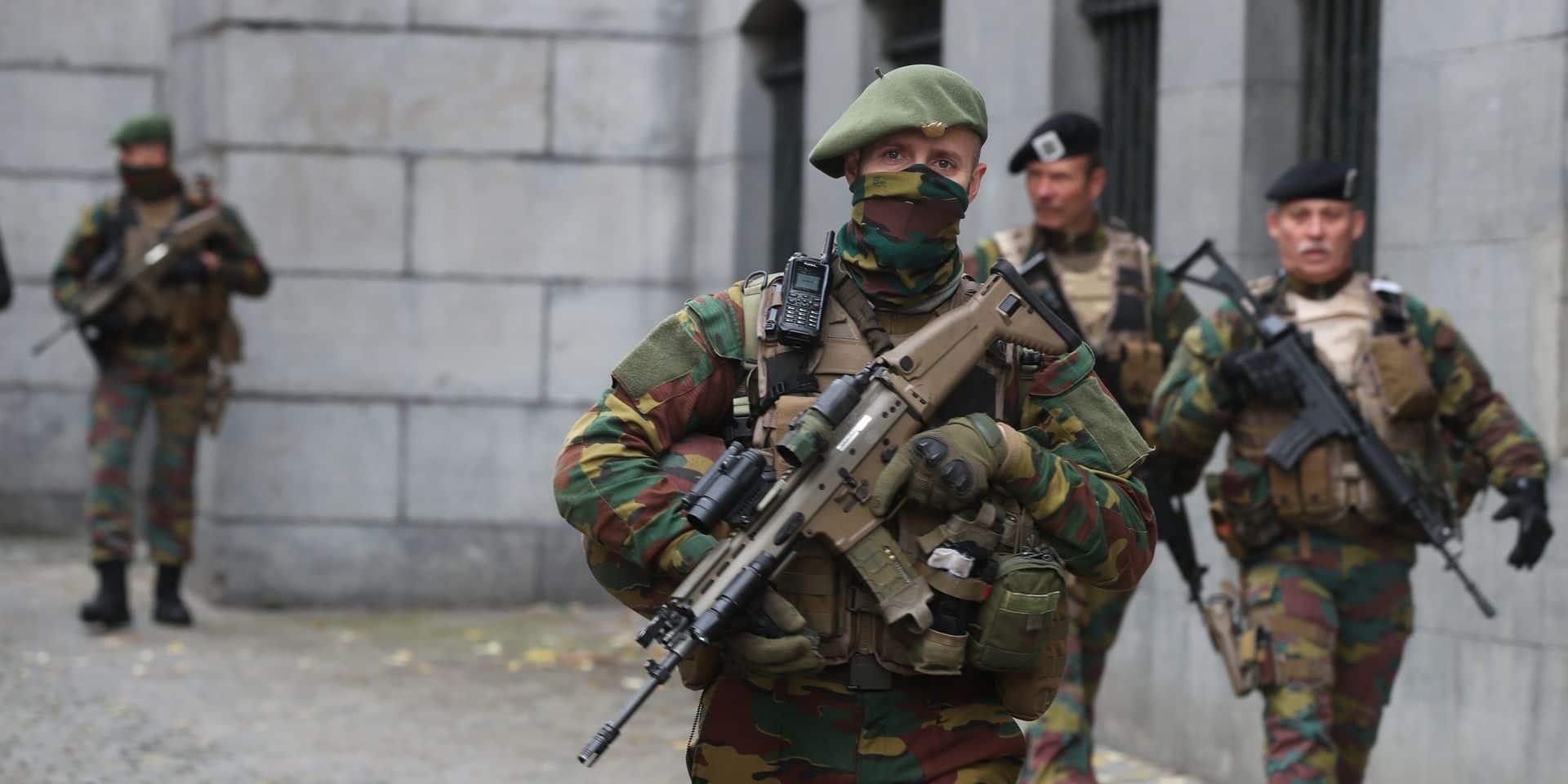 Les patrouilles de soldats en rue coûtent 168 millions d'euros