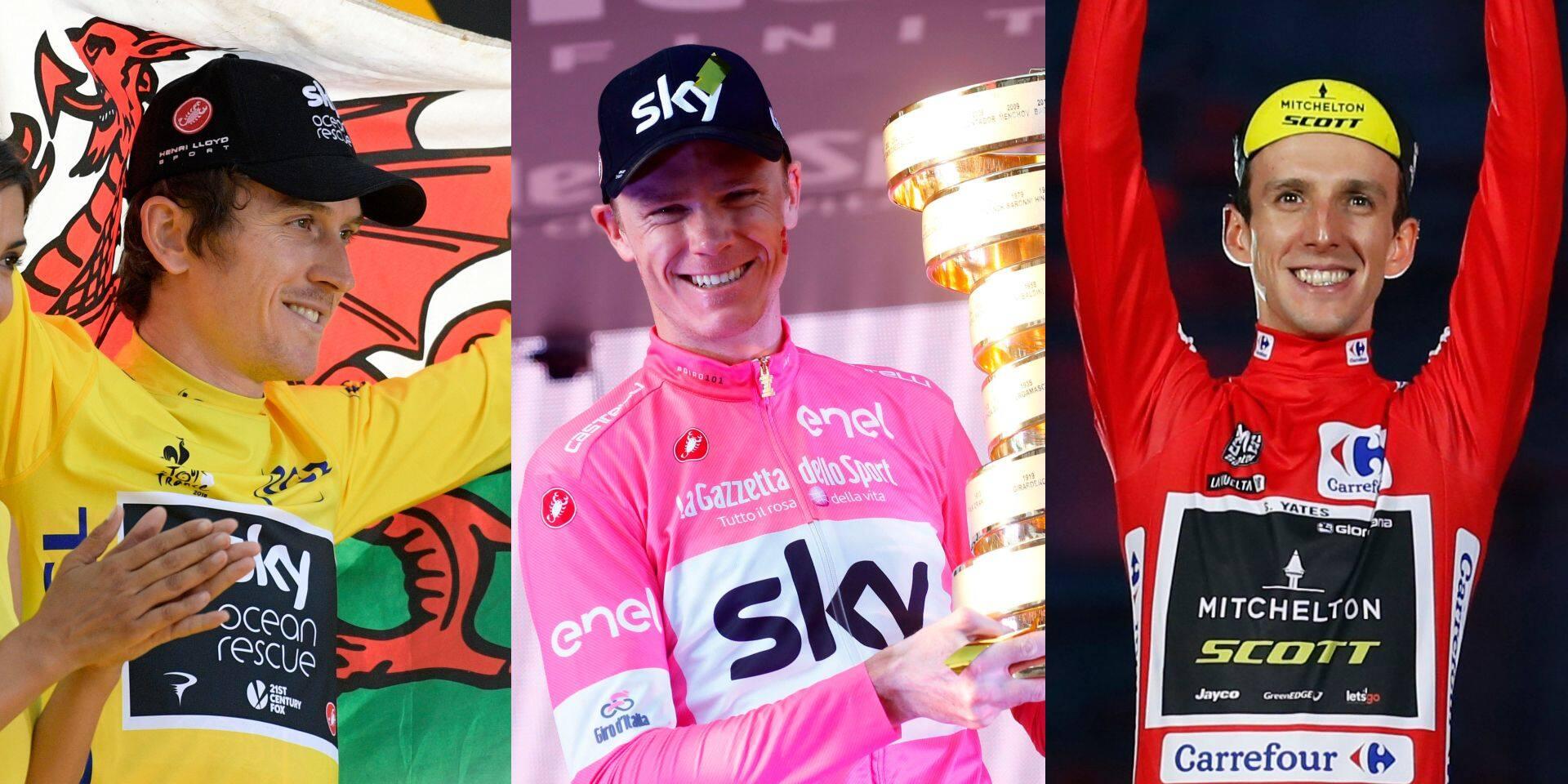 Razzia britannique sur les Grands Tours: aucune nation n'a fait mieux en cinq ans