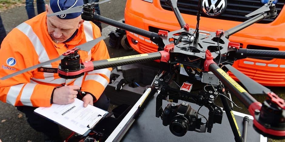 Les drones, une technologie de pointe encore sous-exploitée - La DH