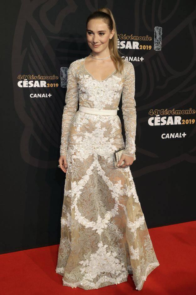 L'actrice belge Déborah François