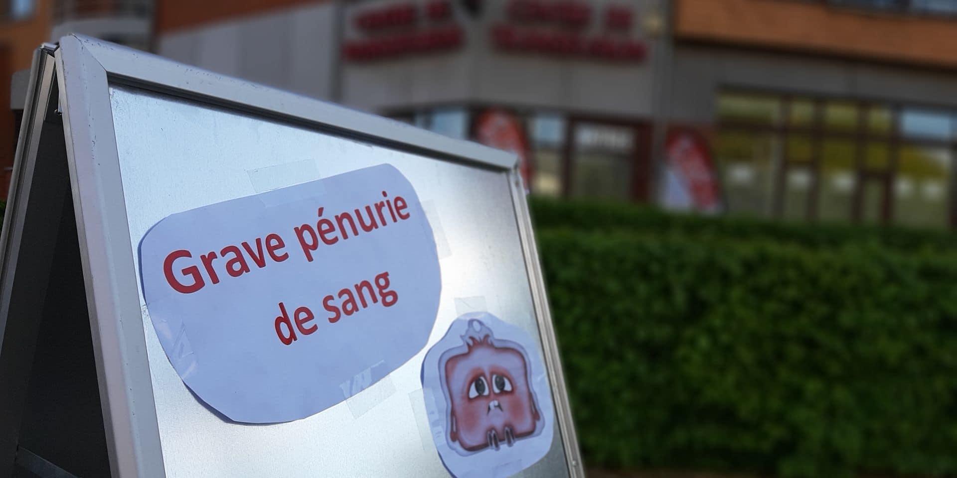 Charleroi: grave pénurie de sang au centre de transfusion de Charleroi