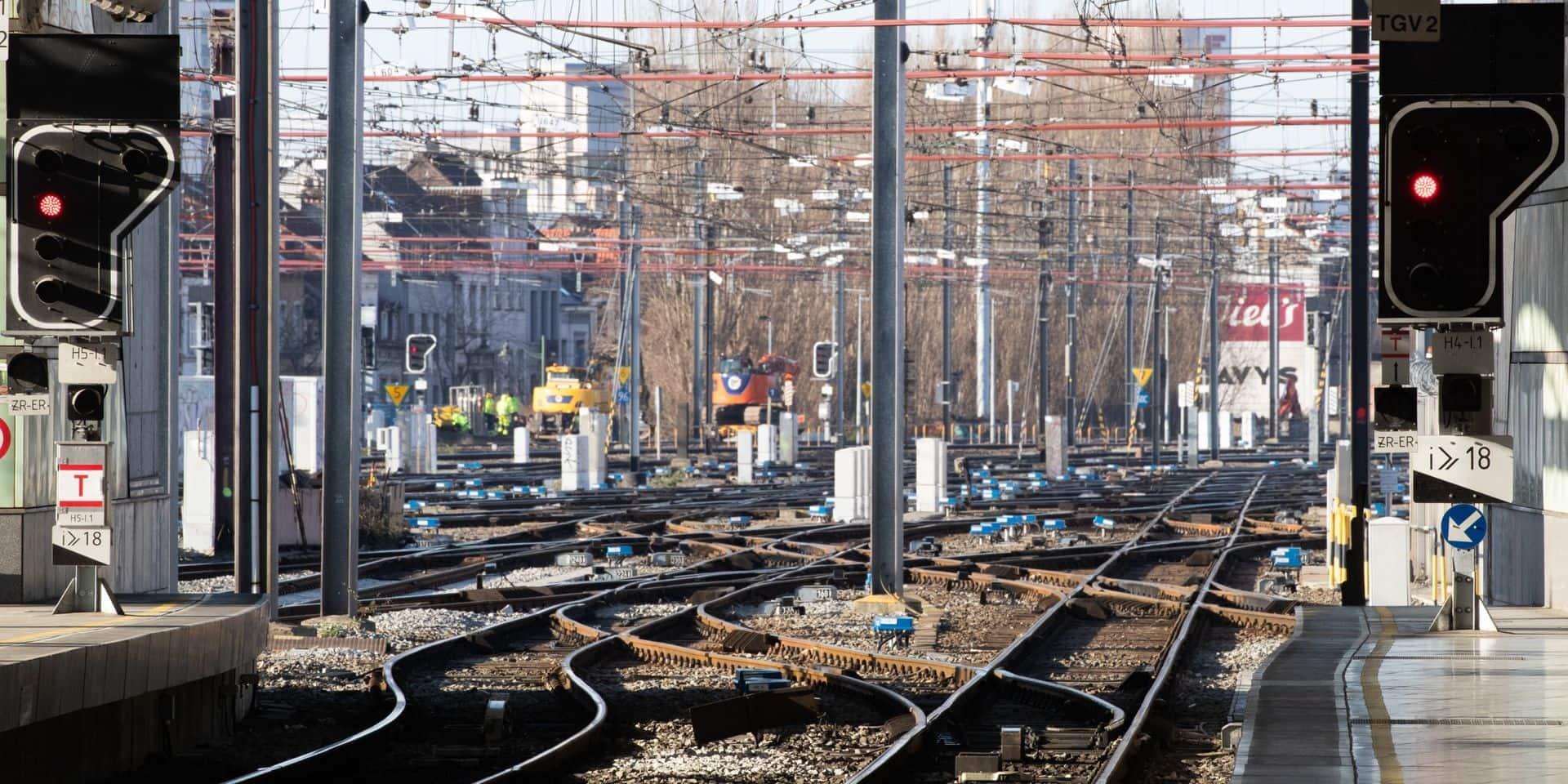 L'axe Charleroi-Walcourt (ligne 22) sera remis en service dès jeudi