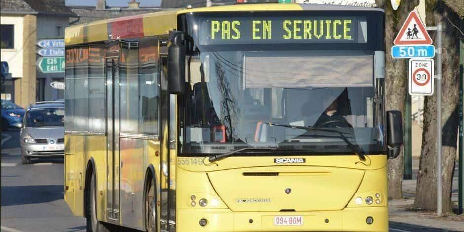 TEC Charleroi: plus de 80 lignes perturbées et 1500 trajets annulés