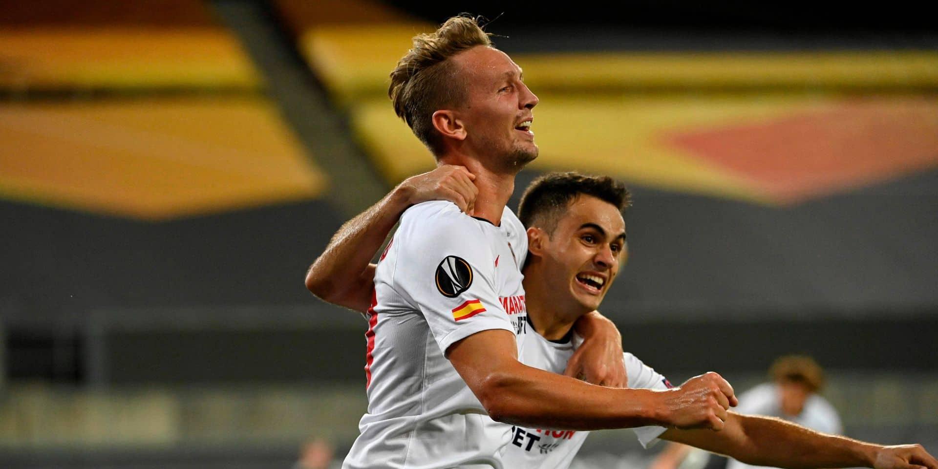 Séville renverse Manchester United en Europa League et file en finale
