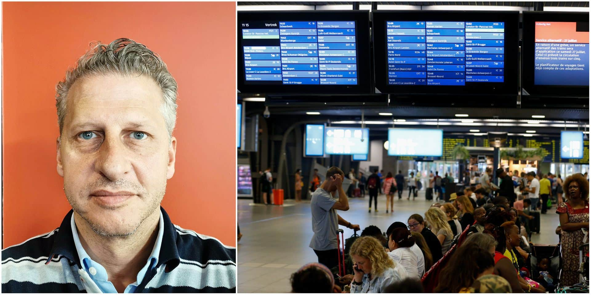 """""""Bruxelles-Midi,c'est le Kosovo"""" : la phrase choc du patron flamand Marcel Buelens ne passe pas auprès des Kosovars"""