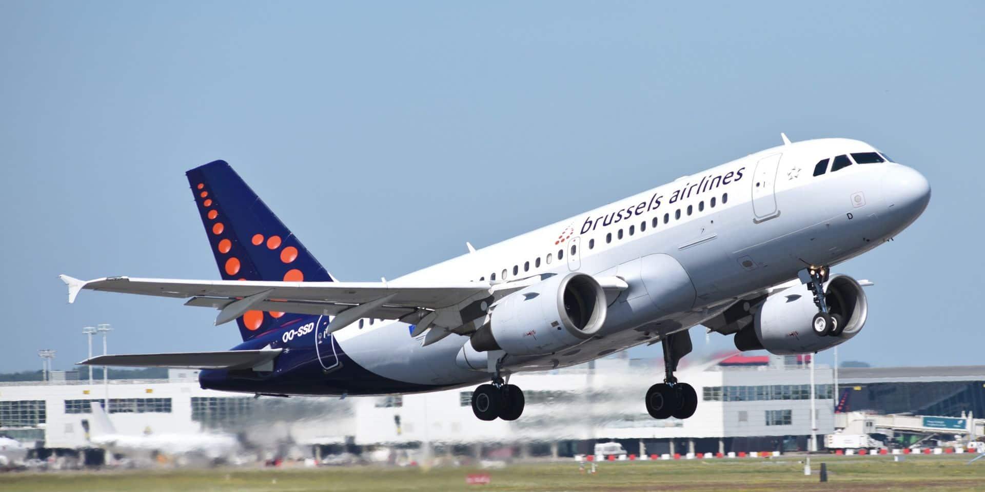 Brussels Airlines annonce une perte de 182 millions d'euros au premier semestre