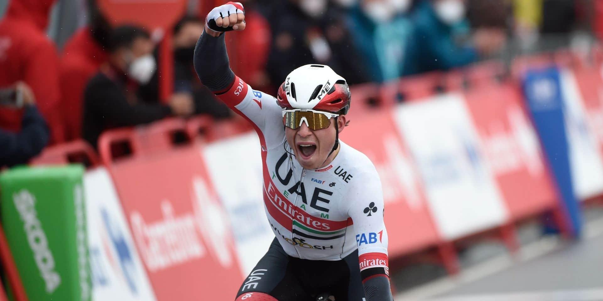"""Jasper Philipsen remporte la 15e étape de la Vuelta: """"Je suis super fier de cette victoire!"""""""