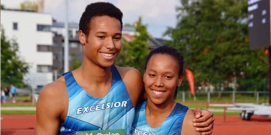 Athlétisme: Badji, un frère et une soeur en or - La DH