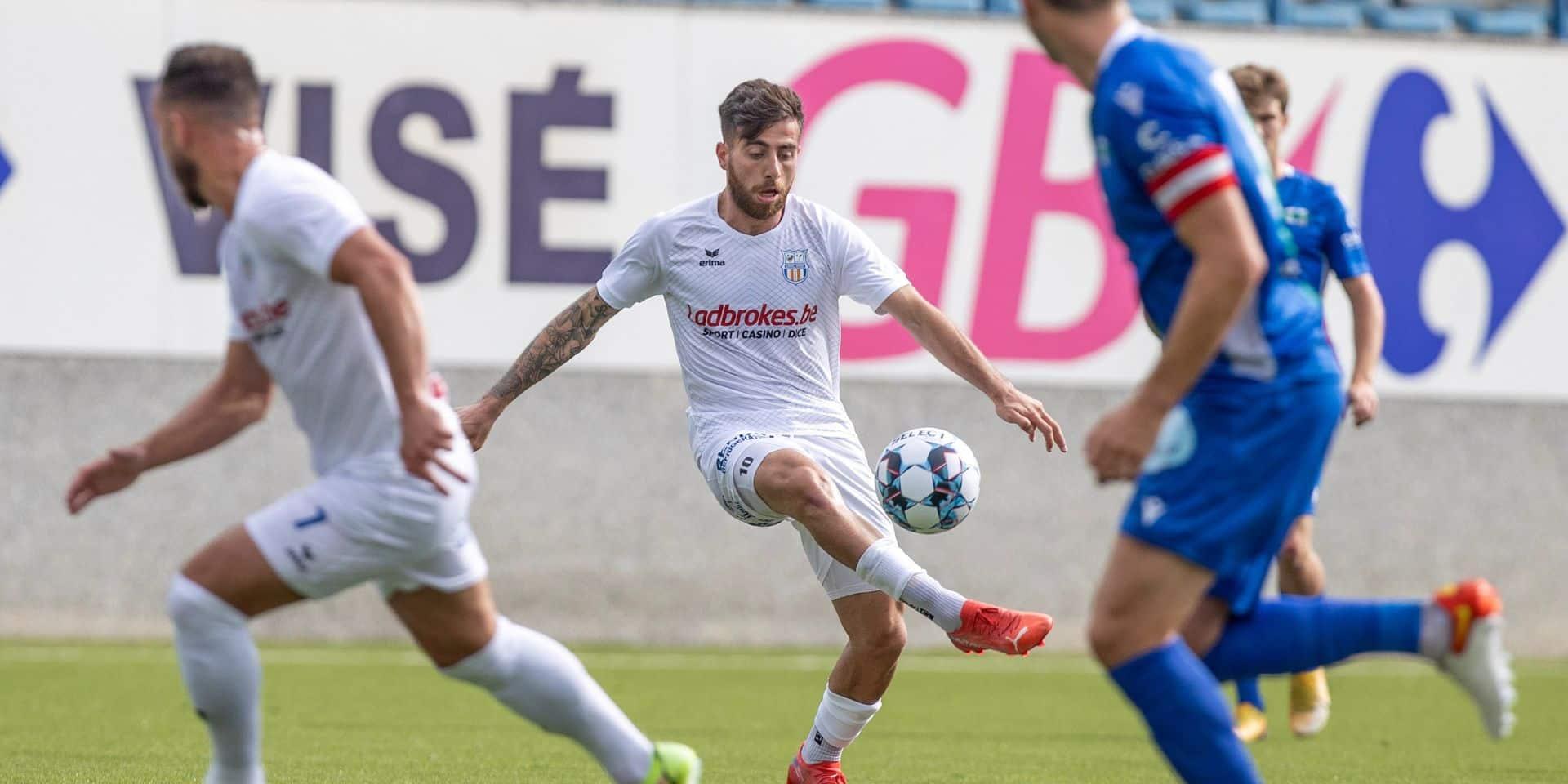 """Cascio veut goûter à l'ivresse d'une victoire de prestige au RFC Liège : """"Nous allons tout mettre en œuvre pour gagner"""""""