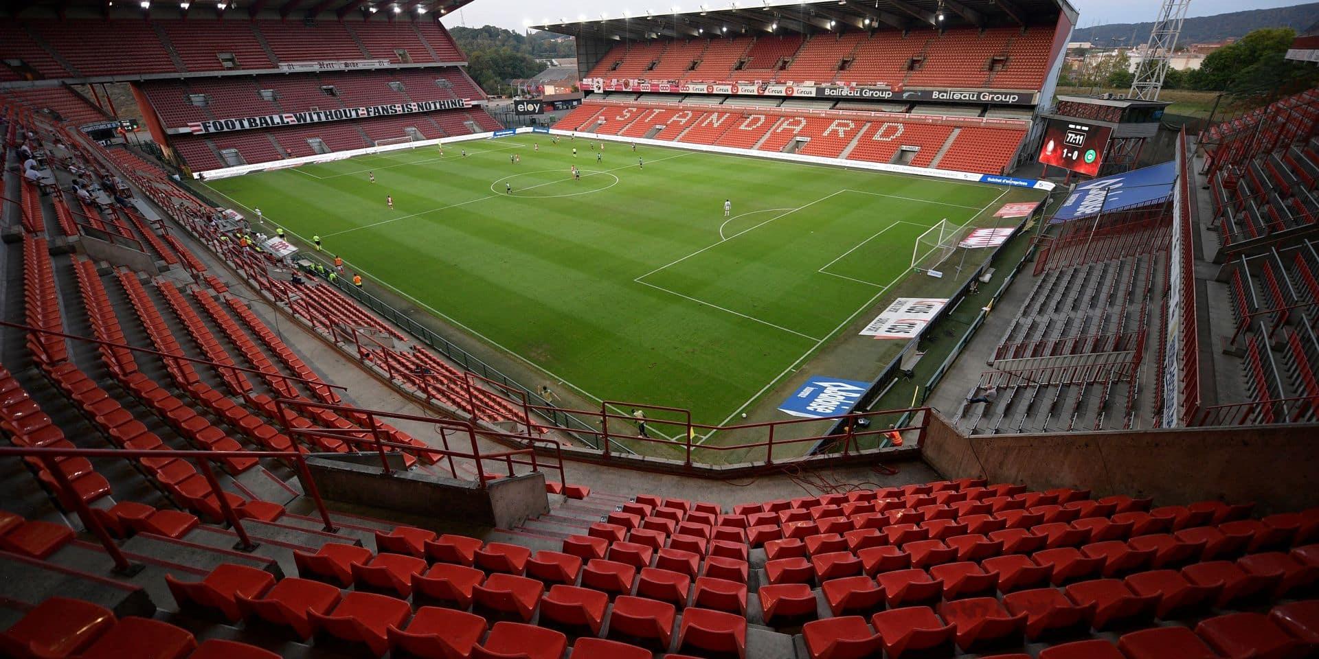 Retour des supporters à Sclessin: un formulaire doit être rempli avant de retourner au stade