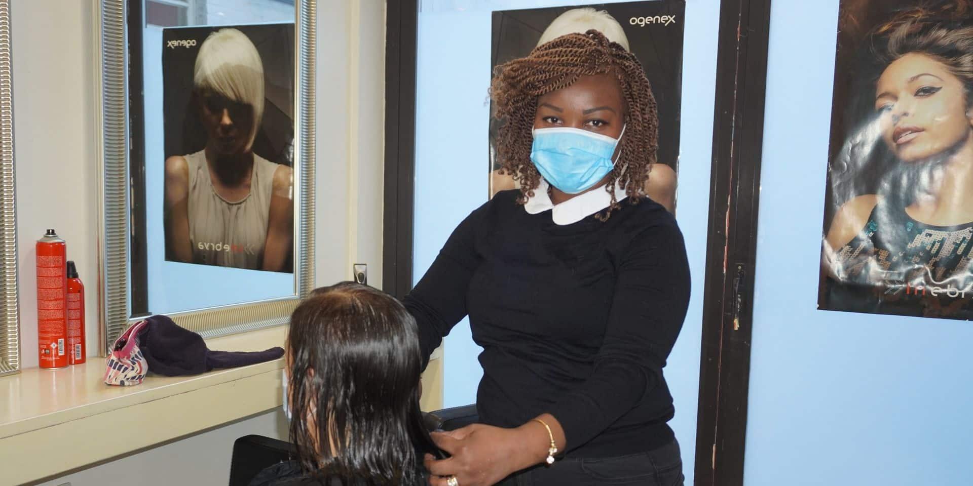 Les coiffeurs soulagés de pouvoir revoir leurs clients à Braine-l'Alleud