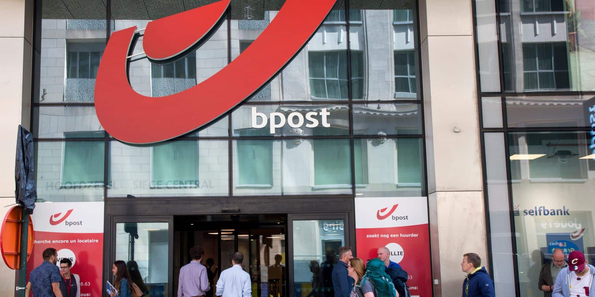 Bpost banque, ex-banque de la Poste, grossit à vue d'oeil