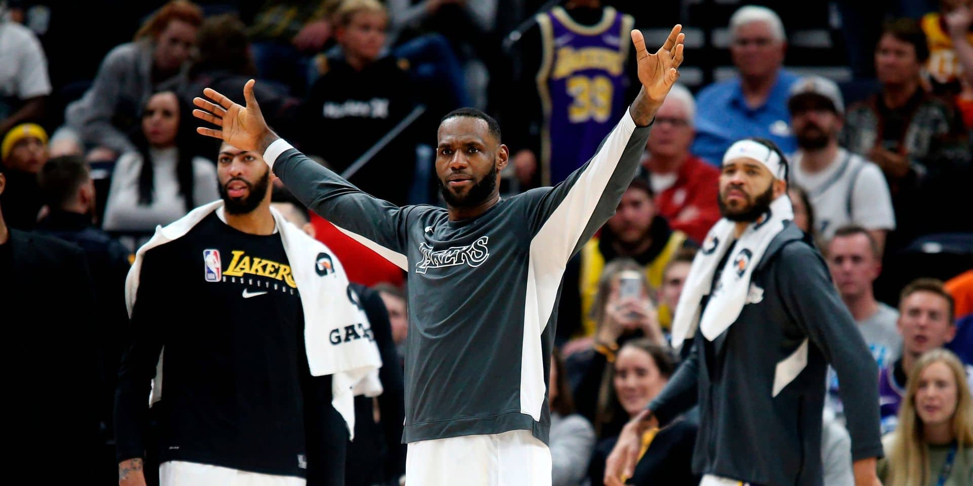 NBA: les Lakers écrasent Utah, les Celtics refroidissent le Heat