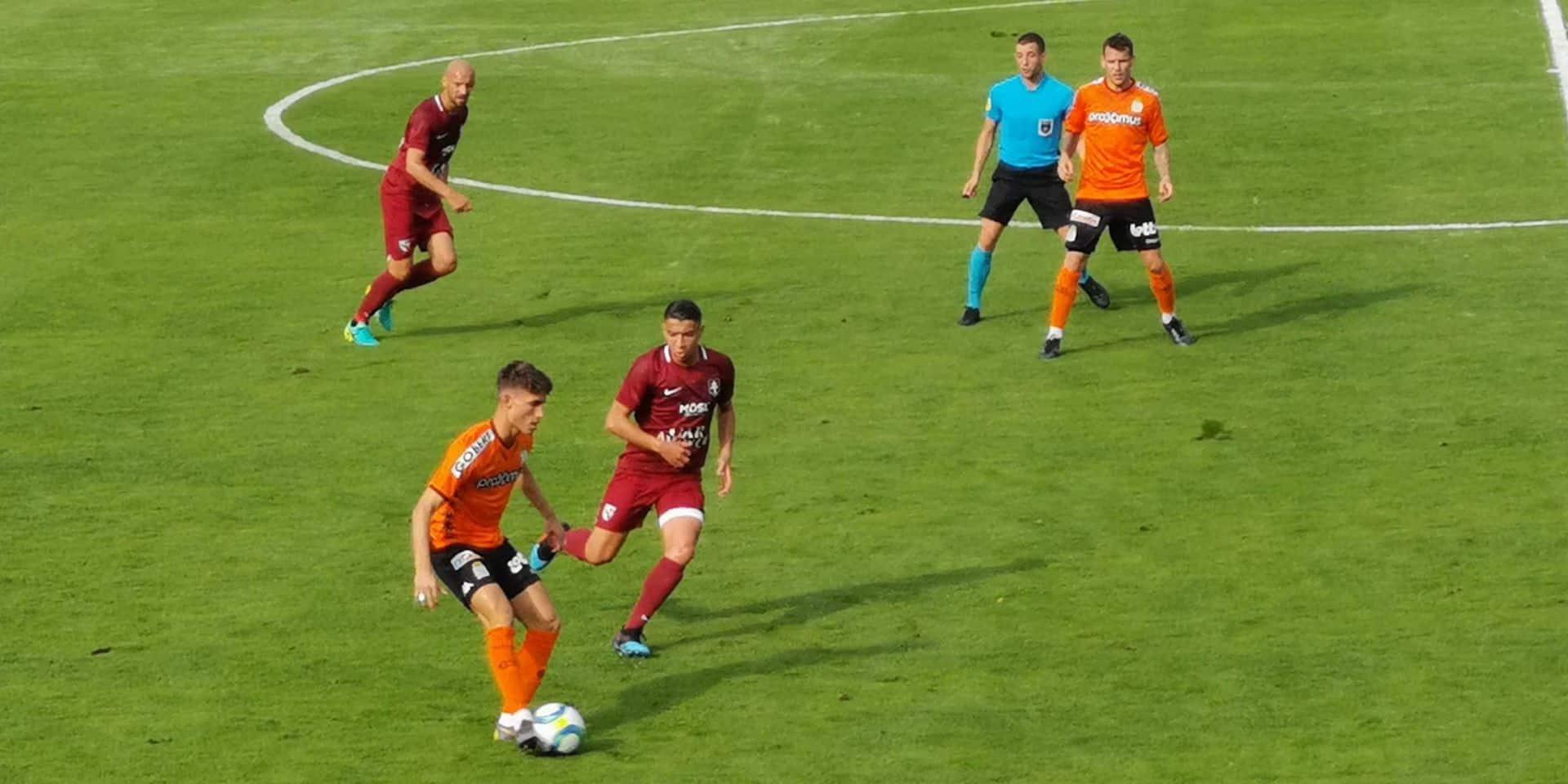 Charleroi battu par Metz en amical