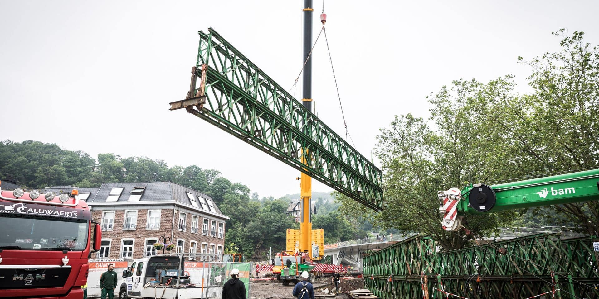 Tilff : un vieux pont qui aura coûté cher
