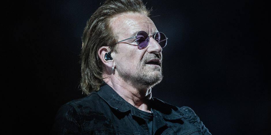 Bono a retrouvé sa voix, U2 poursuit sa tournée