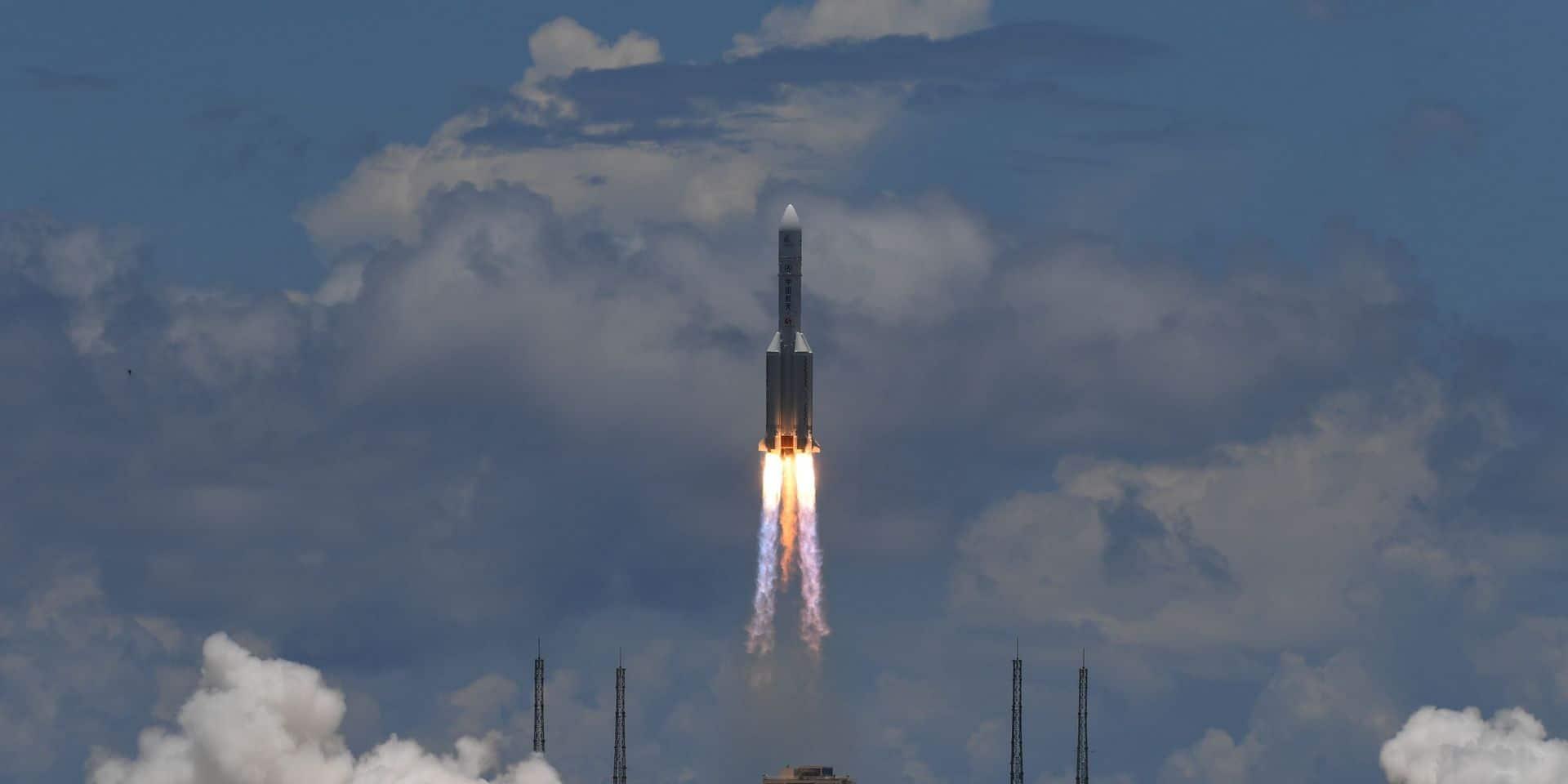 Le lancement de la sonde Tianwen, le 23 juillet 2020.