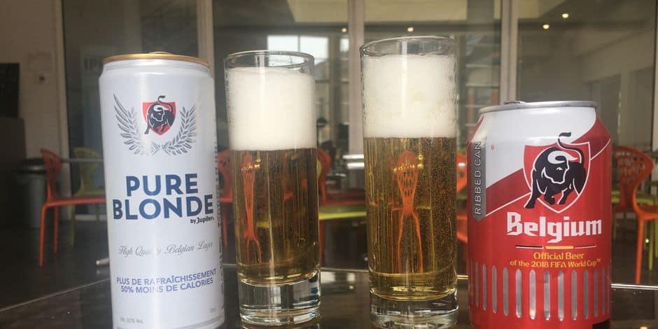 Nous avons testé pour vous la Pure Blonde, nouvelle bière de Jupiler - La DH
