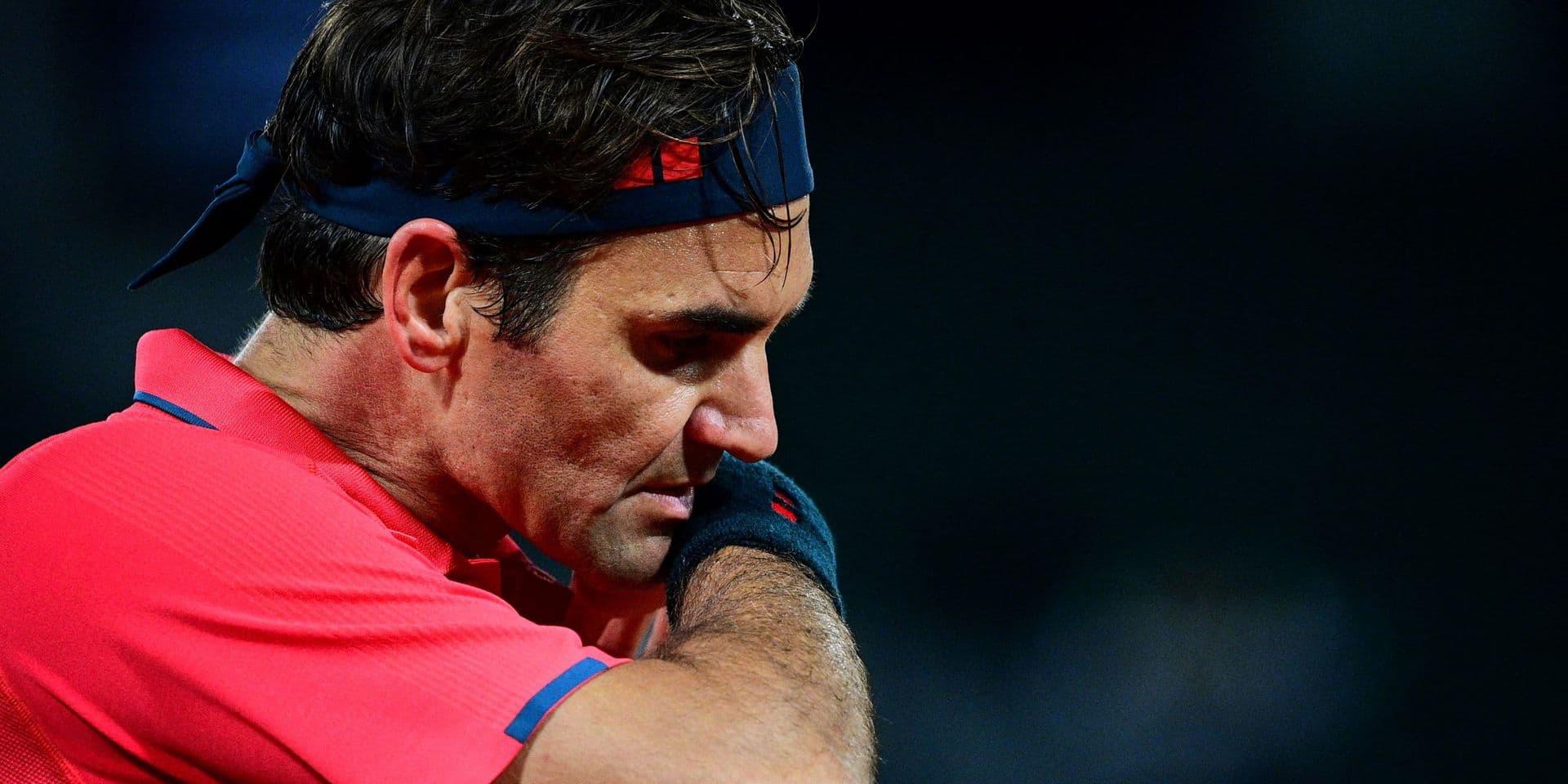 """Roland-Garros: """"Je ne sais pas si je vais jouer"""" en 8e de finale, s'interroge Federer"""