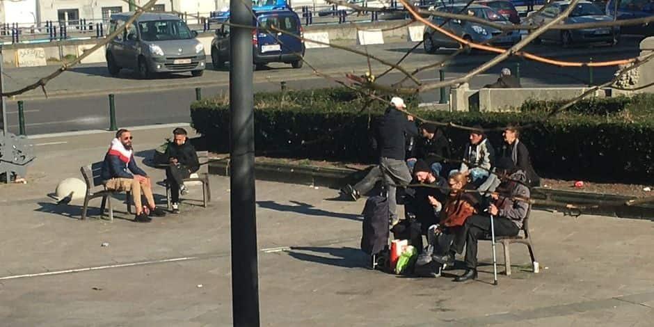 Ces quartiers de Bruxelles où la distanciation sociale n'est pas respectée