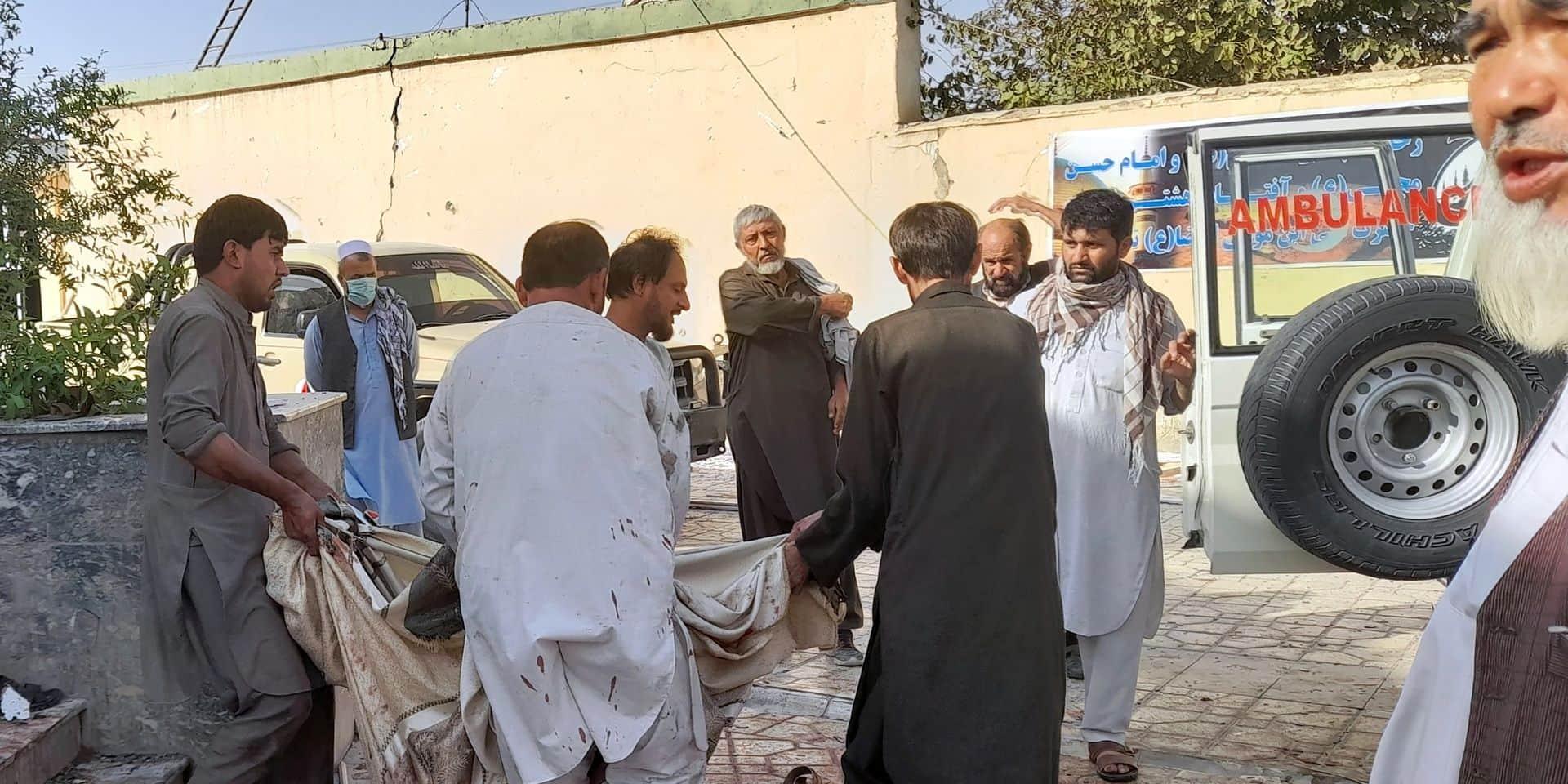 Afghanistan: au moins 55 morts et 140 blessés dans un attentat-suicide dans une mosquée de Kunduz