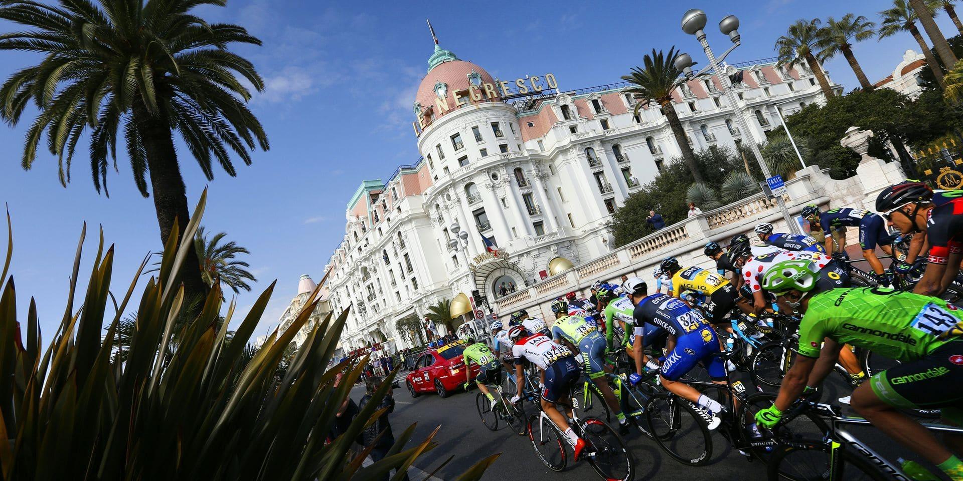 Nice, départ du Tour de France et véritable paradis cycliste
