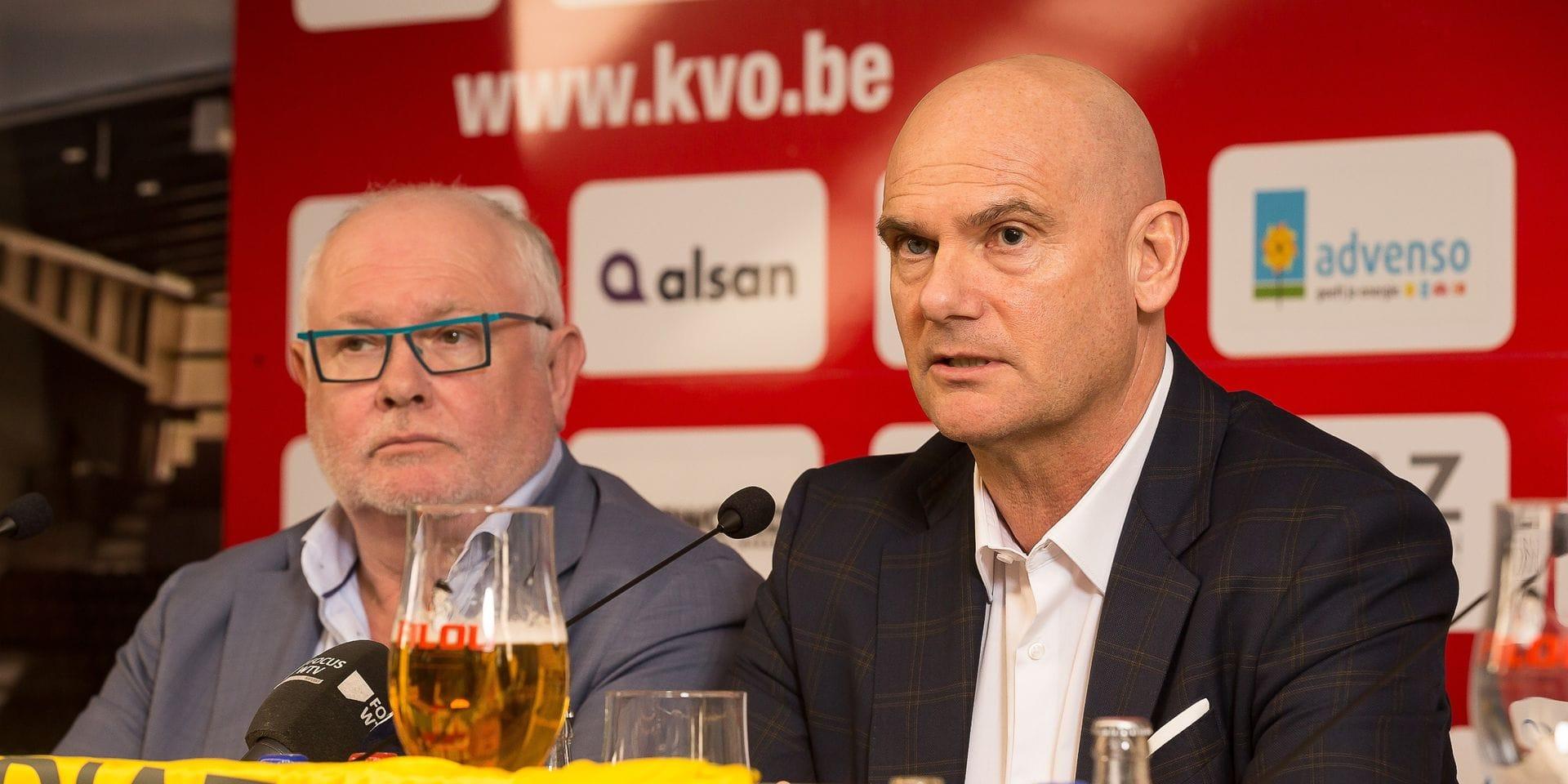 Le président du KV Ostende Frank Dierckens reconnait avoir reçu une offre d'achat
