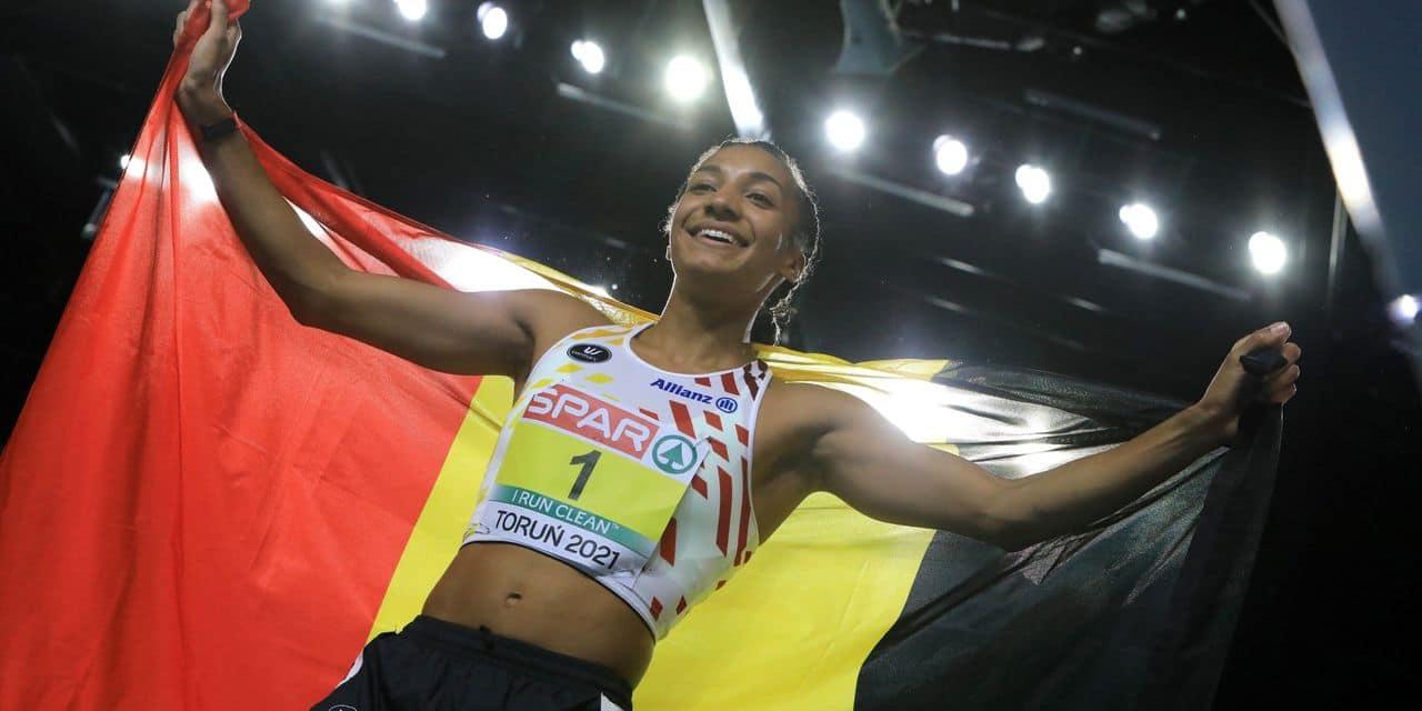 La Belgique termine avec 5 médailles: