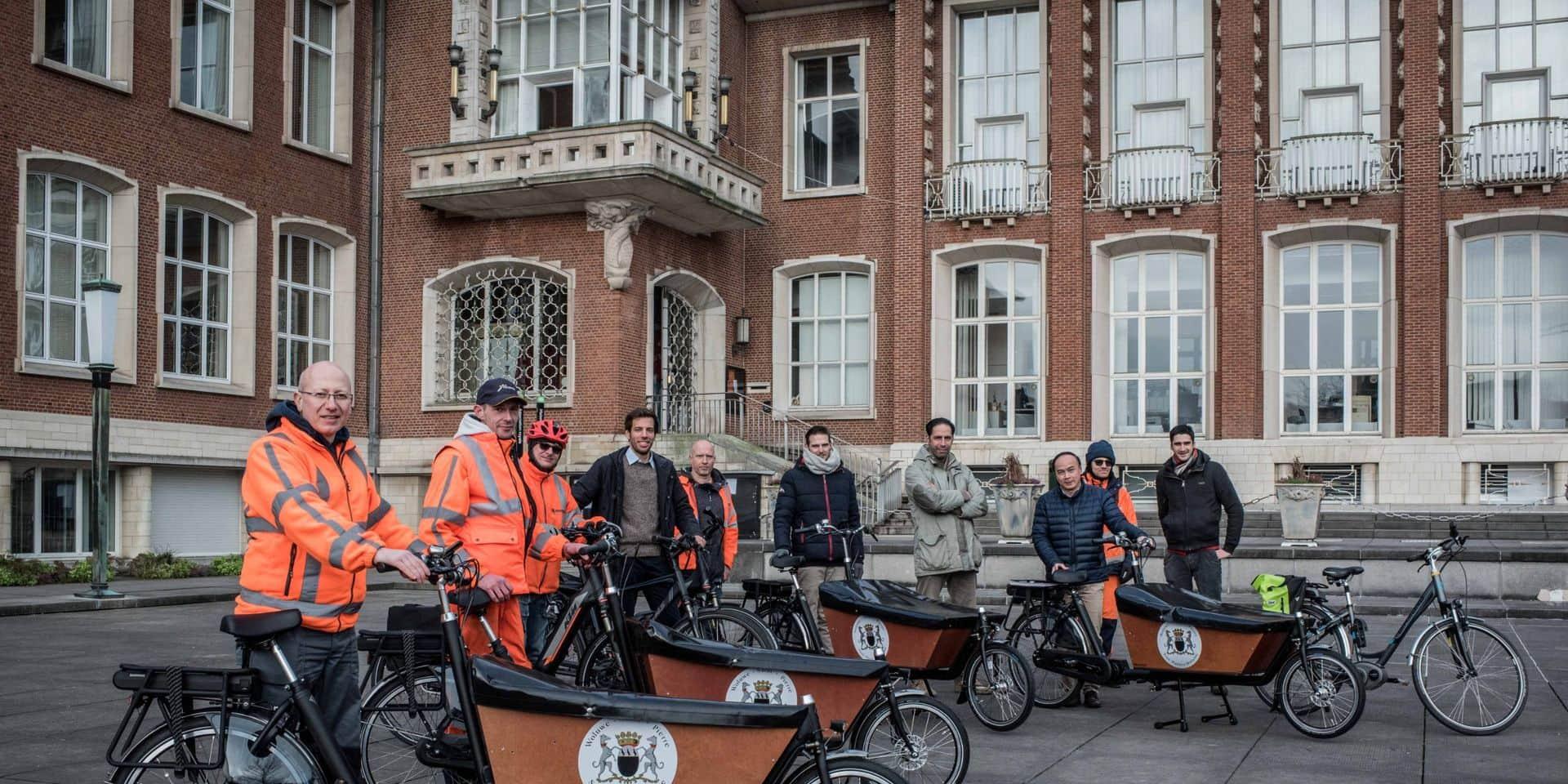 Woluwe-Saint-Pierre : Des vélos cargos supplémentaires pour les ouvriers communaux