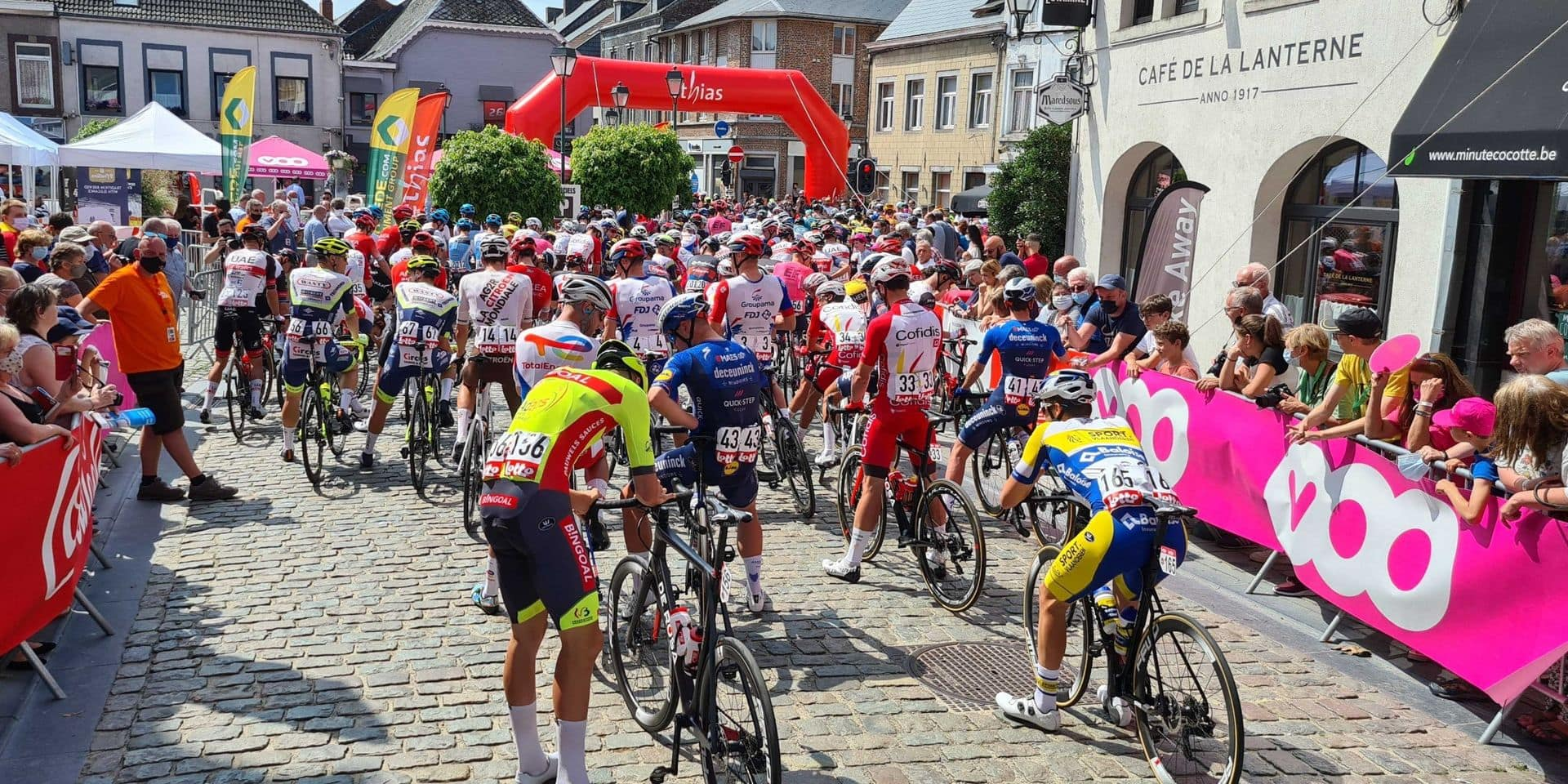 Tour de Wallonie: la 2ème étape, annulée ce lundi, aura finalement lieu sur le circuit de Zolder ce mercredi