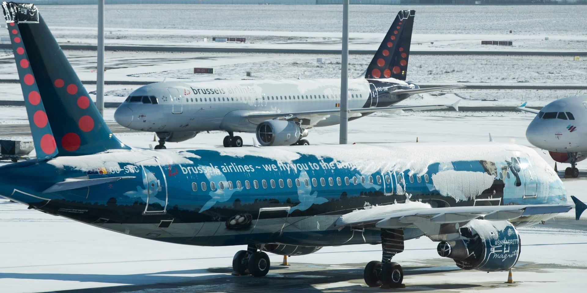 Le chiffre d'affaires de Brussels Airlines s'effondre de 72 %
