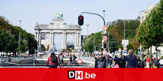 Illustration picture shows the event brussels car-free at the occasion of the week of mobility, in Brussels, Sunday 17 September 2017. BELGA PHOTO LAURIE DIEFFEMBACQ