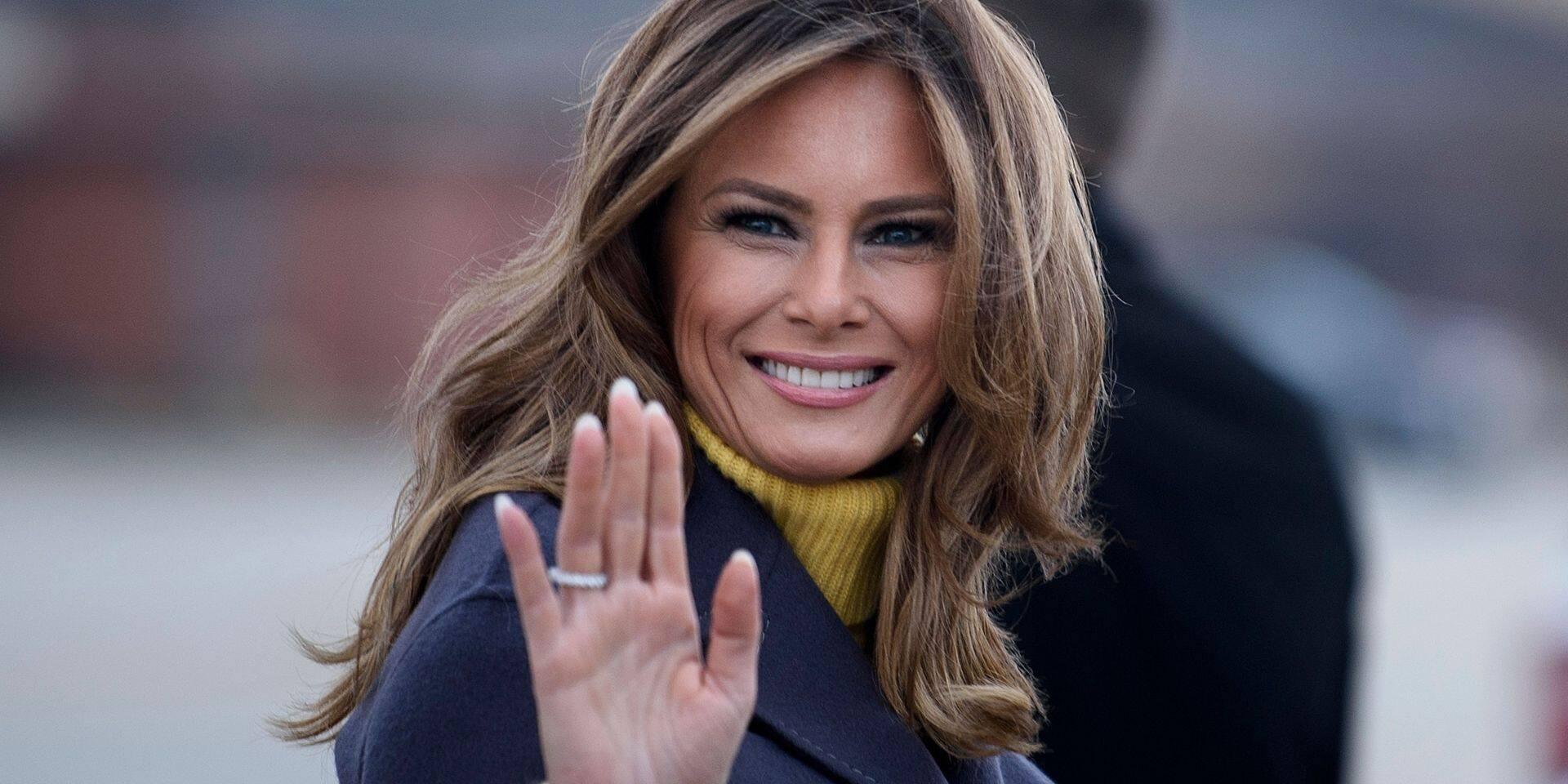 Chambre à part avec Donald Trump, relations tendues avec Ivanka: Melania racontée dans un livre