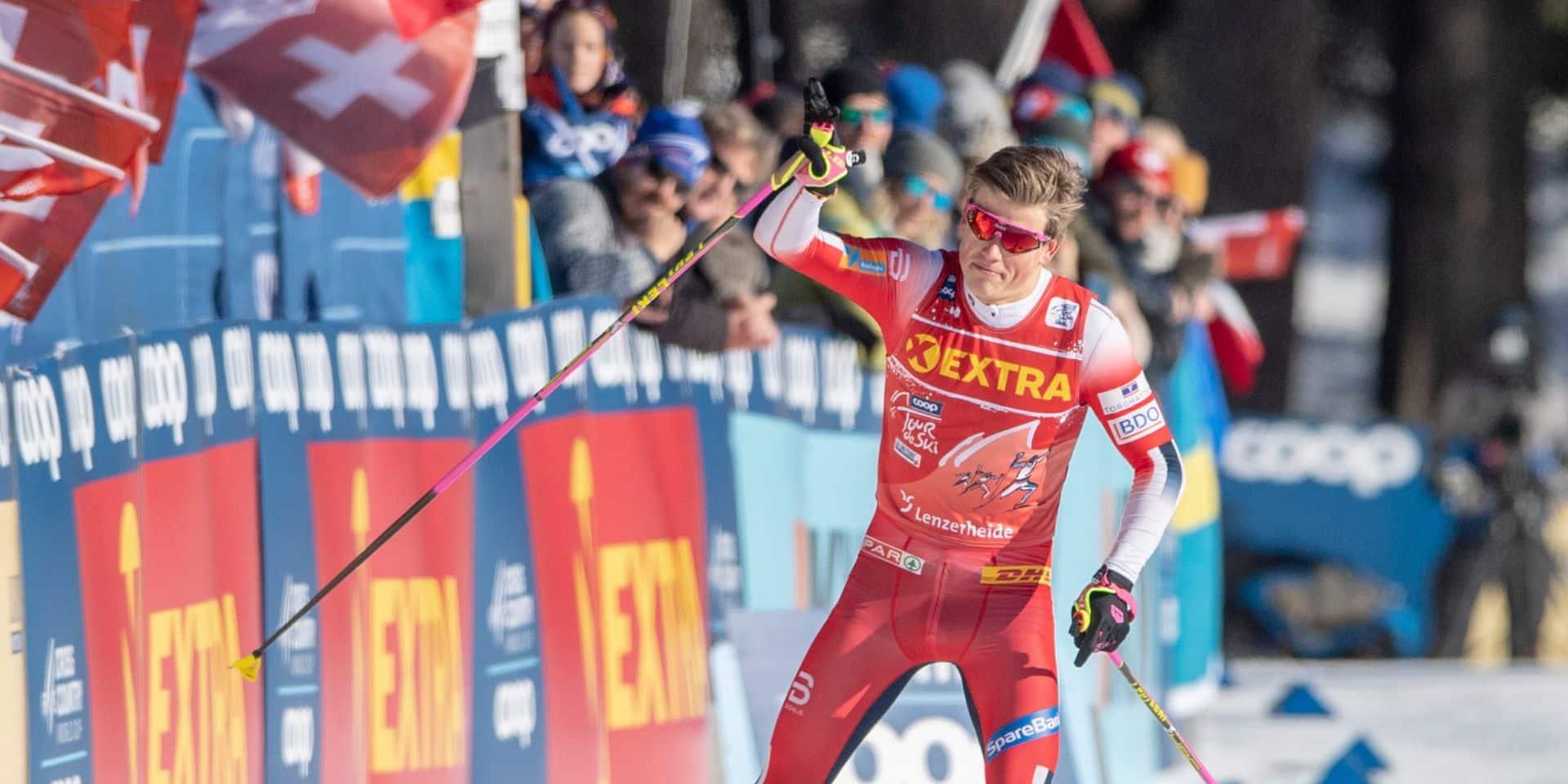 Ski de fond: Klaebo domine les Russes à Val di Fiemme