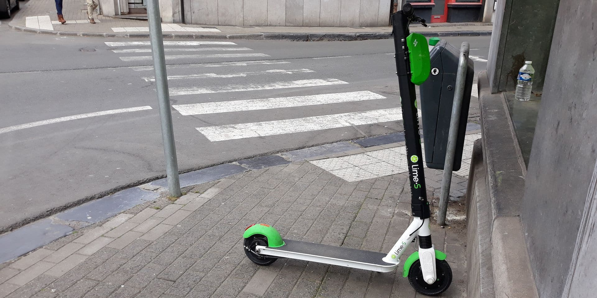 Les trottinettes à Namur: la cacophonie des permiers jours