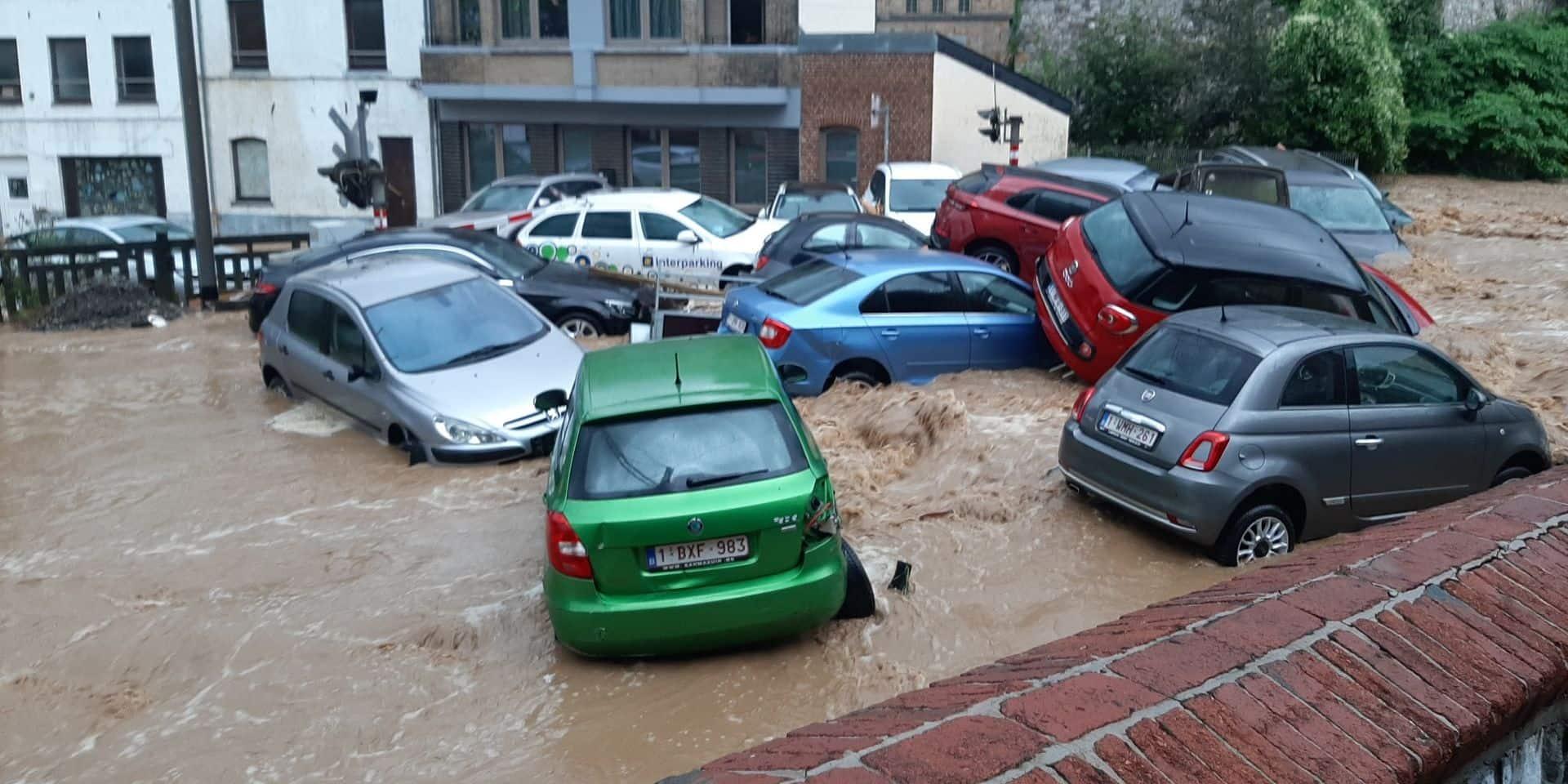 Les fortes pluies font à nouveau des ravages en province de Namur