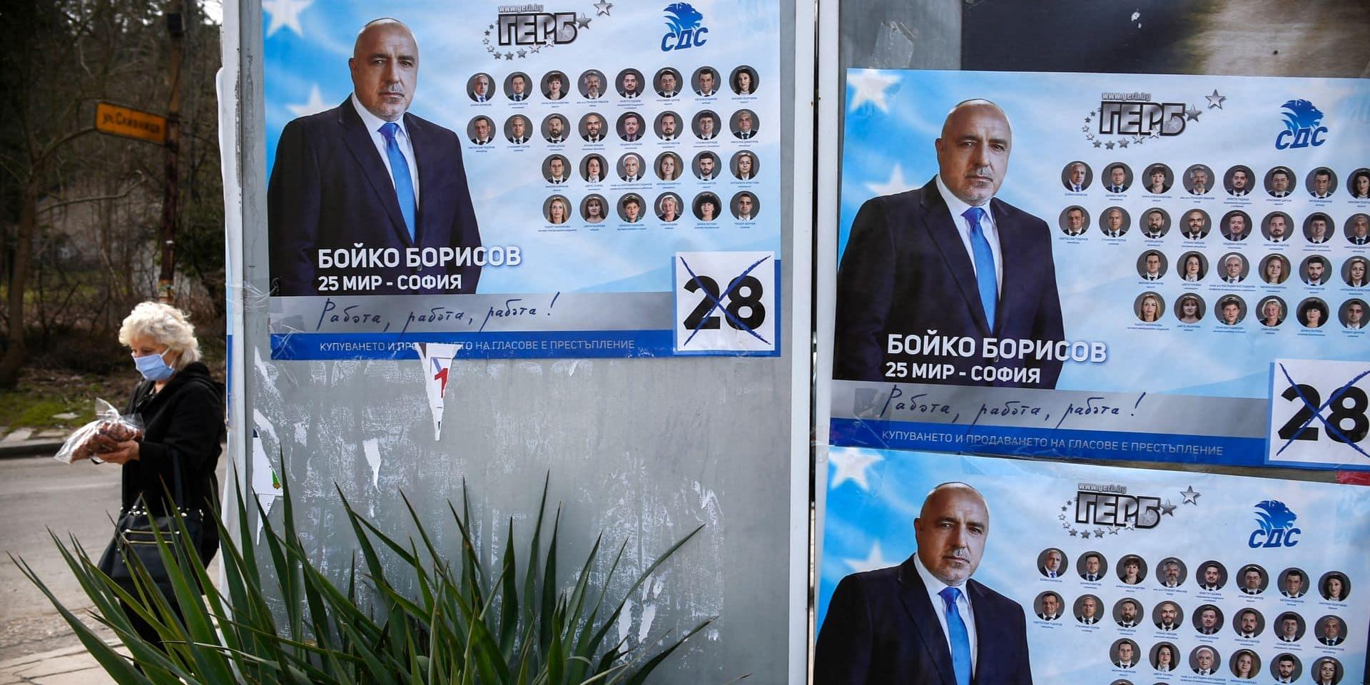 Bulgarie: le parti de Borissov en tête mais les protestataires créent la surprise