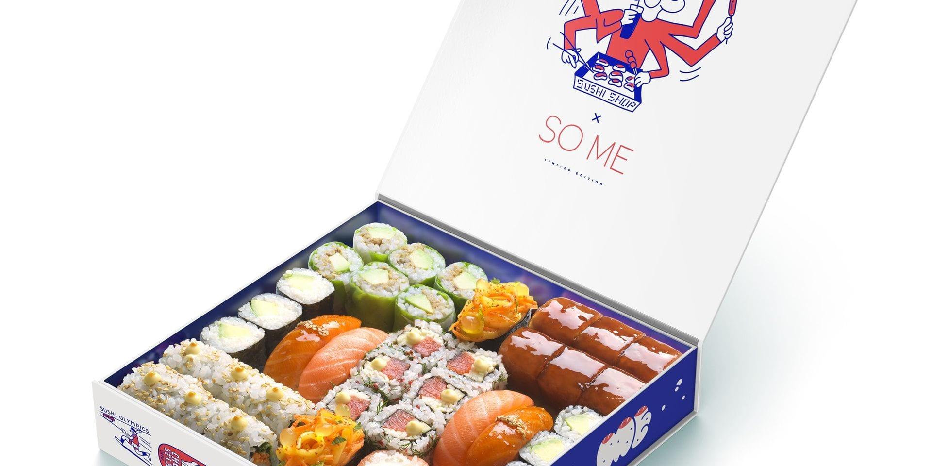 Les sauces de la vie: Sushi Shop, des sushis aussi beaux que bons