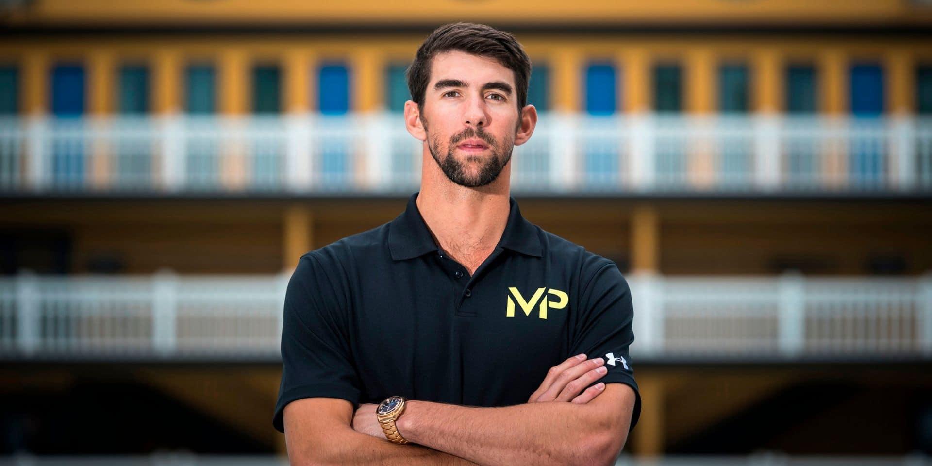 """Report des JO: Phelps appelle les athlètes à """"prendre soin"""" de leur santé mentale"""