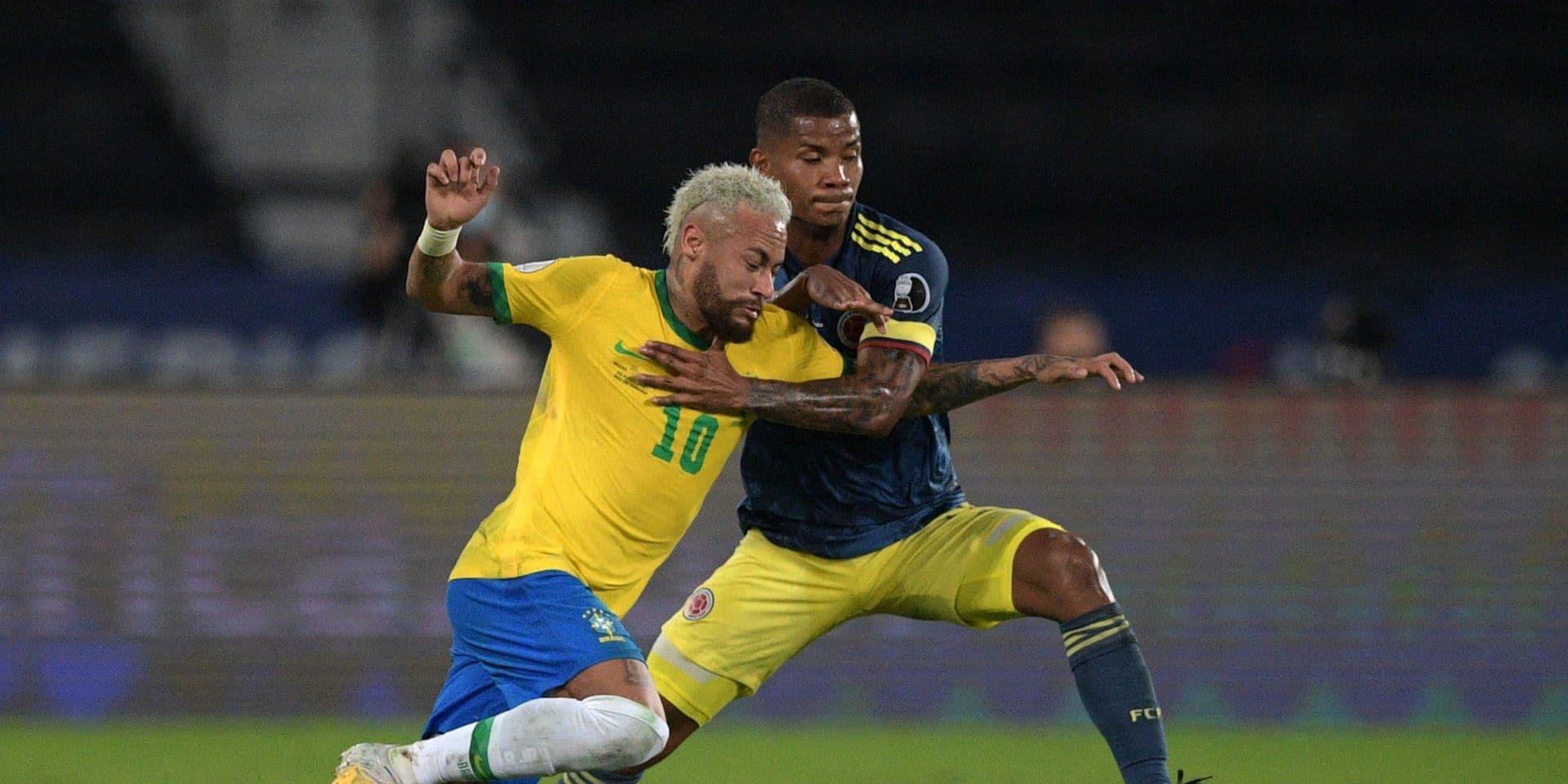 Copa America: le Brésil renverse la Colombie, Neymar à nouveau décisif