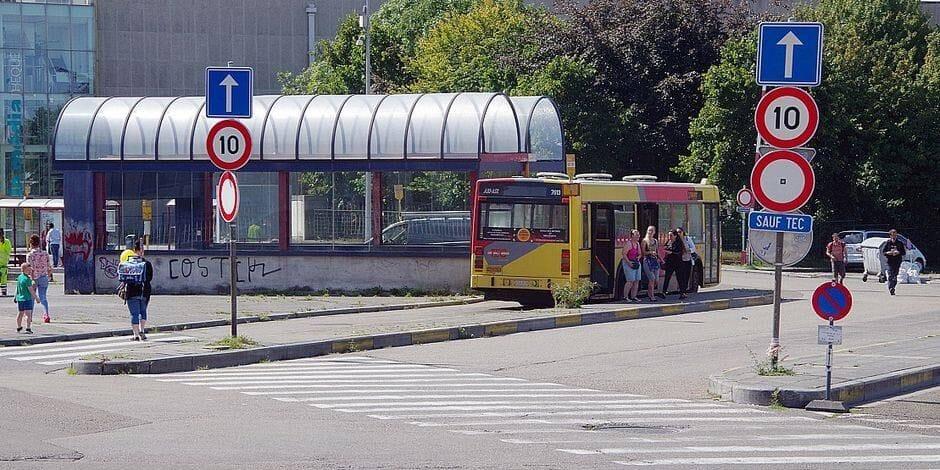 """Charleroi: la gare des bus """"Beaux-Arts"""" déplacée pendant un an"""