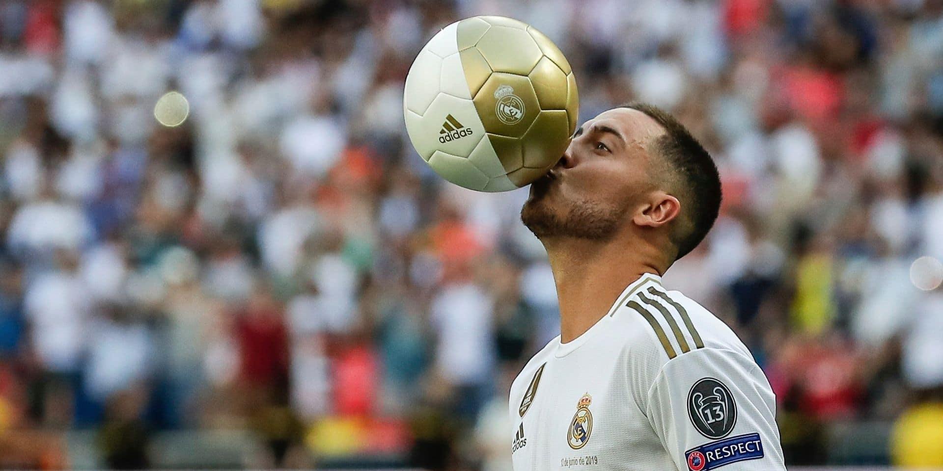 Eden Hazard critiqué par des supporters du Real à propos de son poids