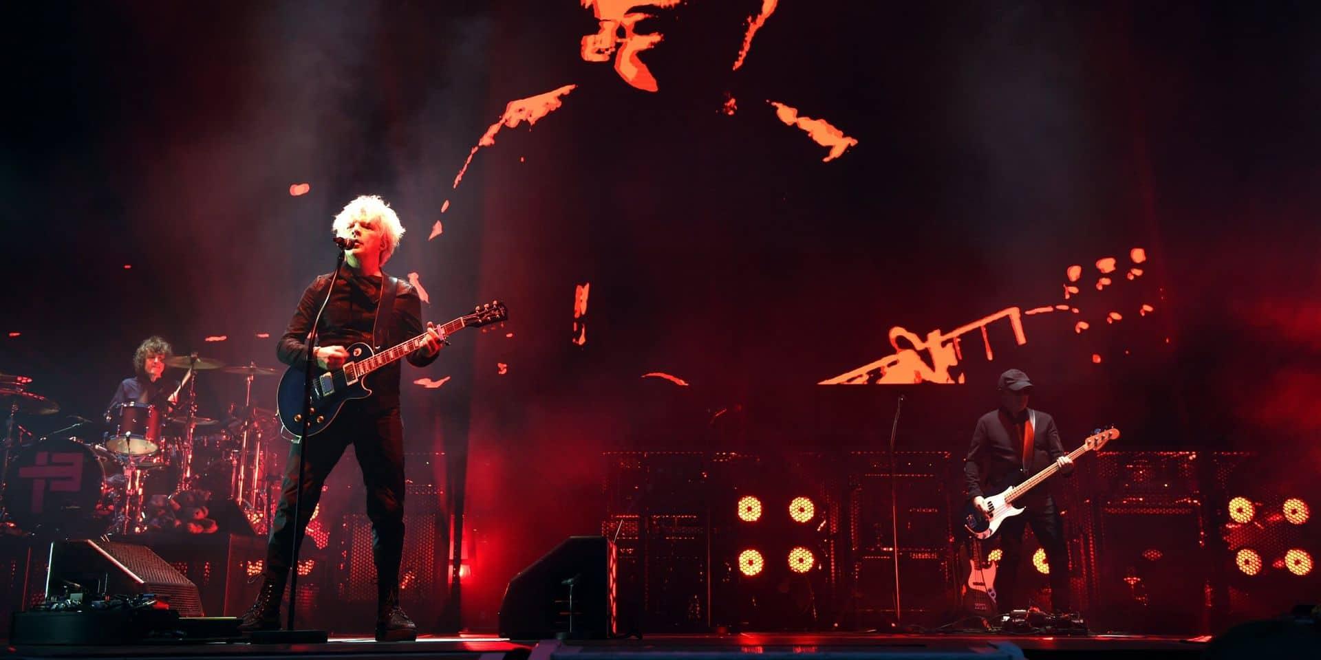 Indochine en concert gratuit sur la Grand-Place de Bruxelles